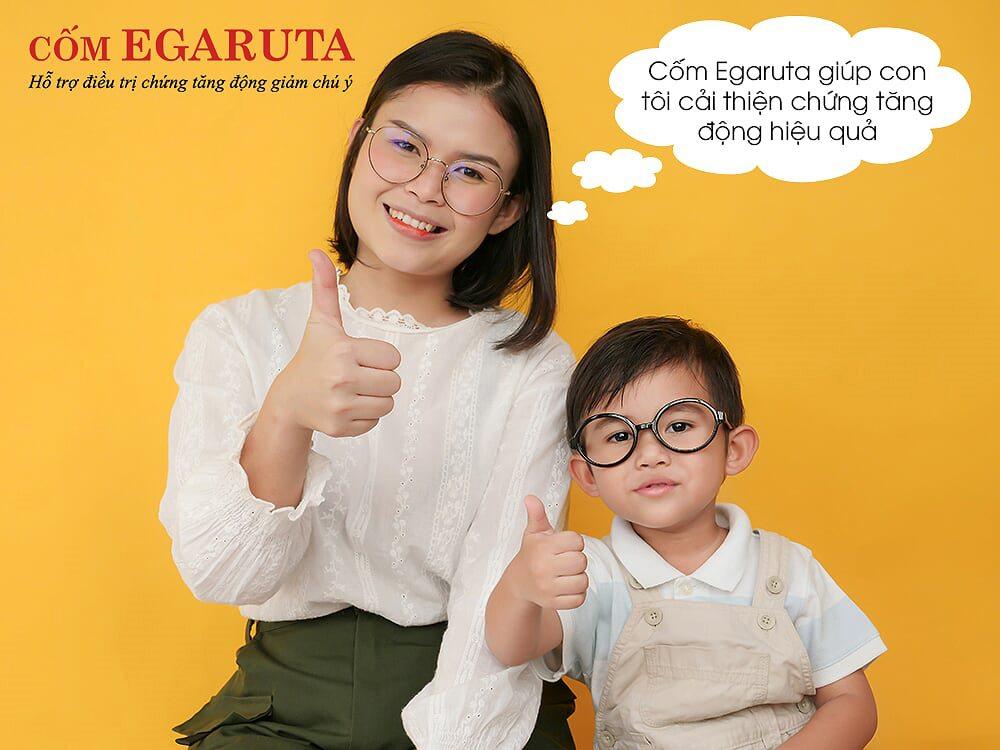 Cốm Egaruta – Giải pháp hàng đầu trong điều trị tăng động ở trẻ được phụ huynh tin dùng từ năm 2015